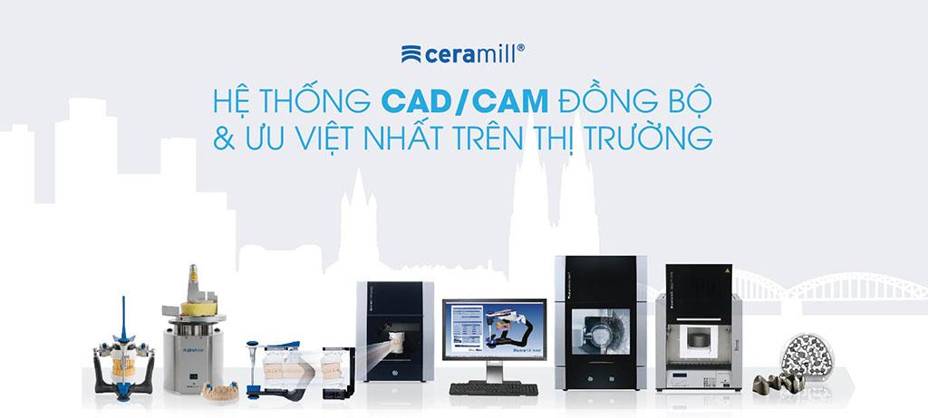 Hệ Thống CAD/CAM Đồng bộ và ưu việt nhất trên thị trường